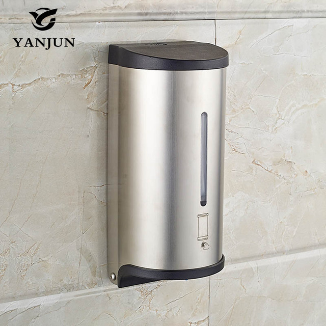 Yanjun 800ml Wall Mounted Automatic Soap Dispenser Liquid Touchless Bath Accessories Yj 2517