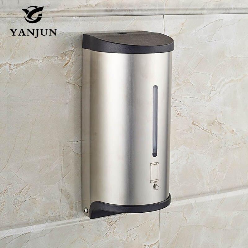 yanjun 800ml wall mounted automatic soap dispenser liquid soap dispenser touchless bath accessories yj2517 - Touchless Soap Dispenser