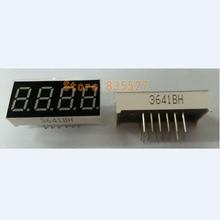 20 шт./лот 0,36 дюймов красный светодиодный 3461 светодиодный общий анод 4-битовая цифровая трубка