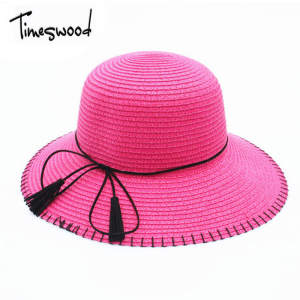 5503677910e78 TIMESWOOD Straw Hats Ladies Sun Hats Beach Hat Womens Caps