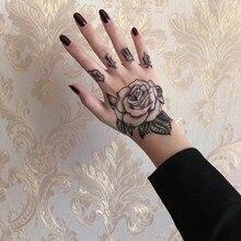 Tatuaje De Rosas Para Hombre Compra Lotes Baratos De Tatuaje De