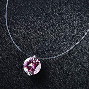 Huapengyang Silver pendant chain necklace for women