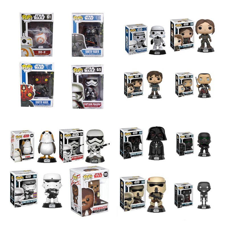 Funko POP Official Star Wars Story PVC Action Figure Collectible Model Toy Doll For Children Kids Birthday New Year Gift