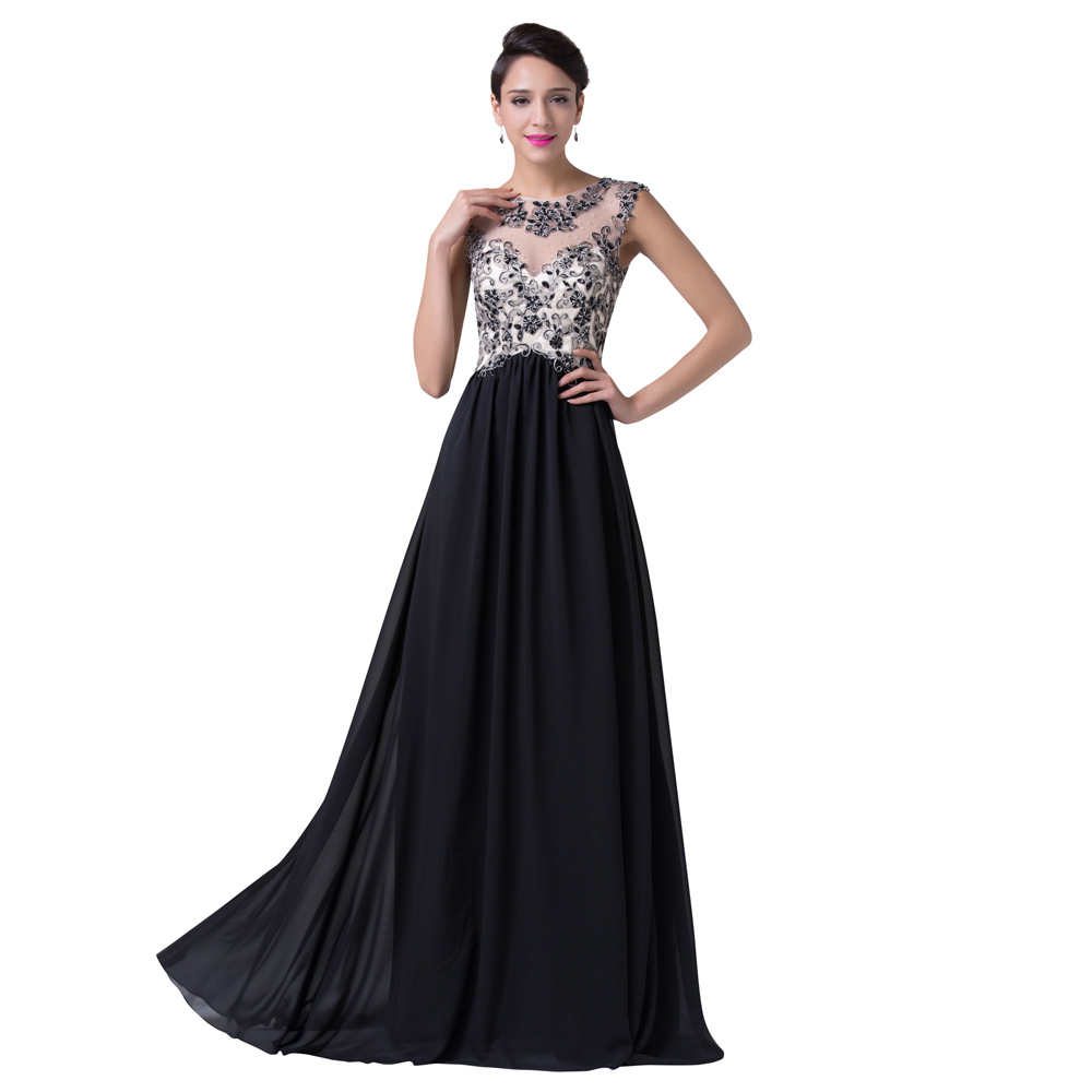 Aliexpress.com : Buy Grace Karin Women A line Formal Chiffon Satin ...