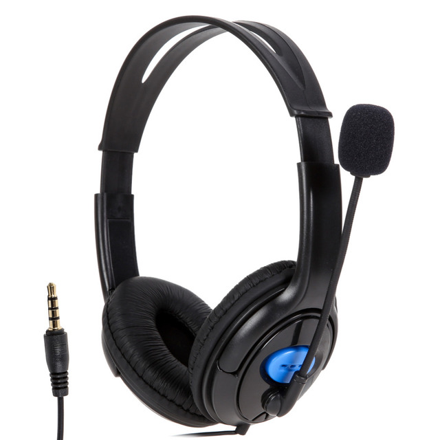 High Quality Wired Gaming Headset Headphones with Microphone for Sony PS4