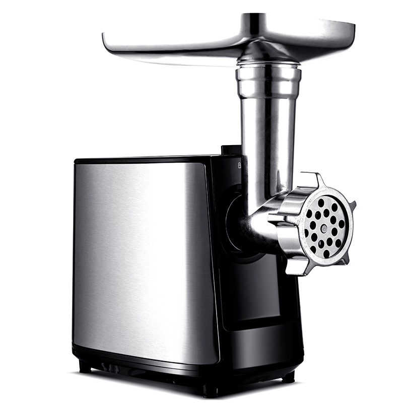 220V AUX Electric Stainless Steel Meat Grinder Multifunctional Sausage Maker Vegetable Garlic Meat Mincer Household Meat Grinder 18 free ship 120kg hour 220v electric ce commercial meat grinder meat mincer stainless steel electric meat grinder machine
