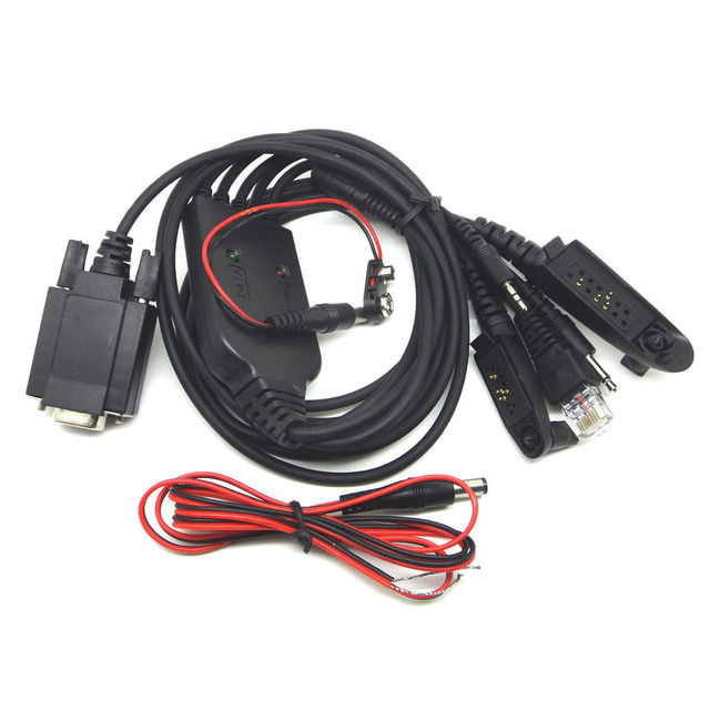 COM Programming 5 in 1 Cable for Motorola Radios RPC-M5XGR400 GR500 GM300 GTX RPC-M5XPRO9150 PTX700 PTX760