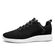 Big Size 39-46 Skateboarden Schoenen Comfortabel Flyknit Heren Sneakers Ademende Sportschoenen Sneakers