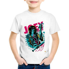 Ramones Rock Band Children Funny T-shirts Kids
