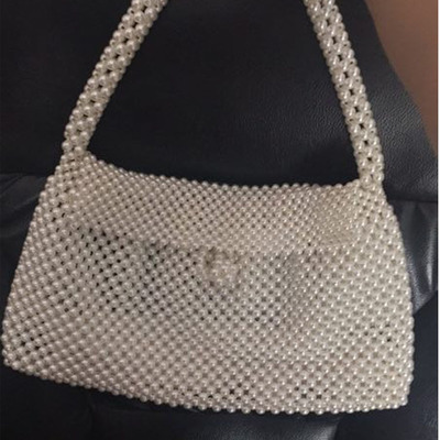 ใหม่คริสตัลโปร่งใสกระเป๋า Designer ไข่มุกวุ้นกระเป๋าคลัทช์ใสกระเป๋า Crossbody Messengers ผู้หญิงคริสตัลกระเป๋าถือกระเป๋า Totes-ใน กระเป๋าหูหิ้วด้านบน จาก สัมภาระและกระเป๋า บน   2
