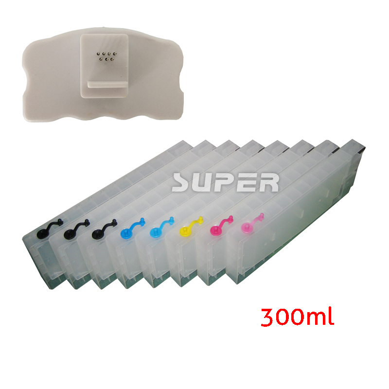 ФОТО Cheap T5651-T5659 inkjet  cartridges for Epson 4800 with chips and chip resetter on high quality