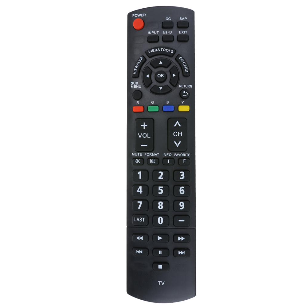 Replacement Smart TV Remote Control for TCL Panasonic N2QAYB