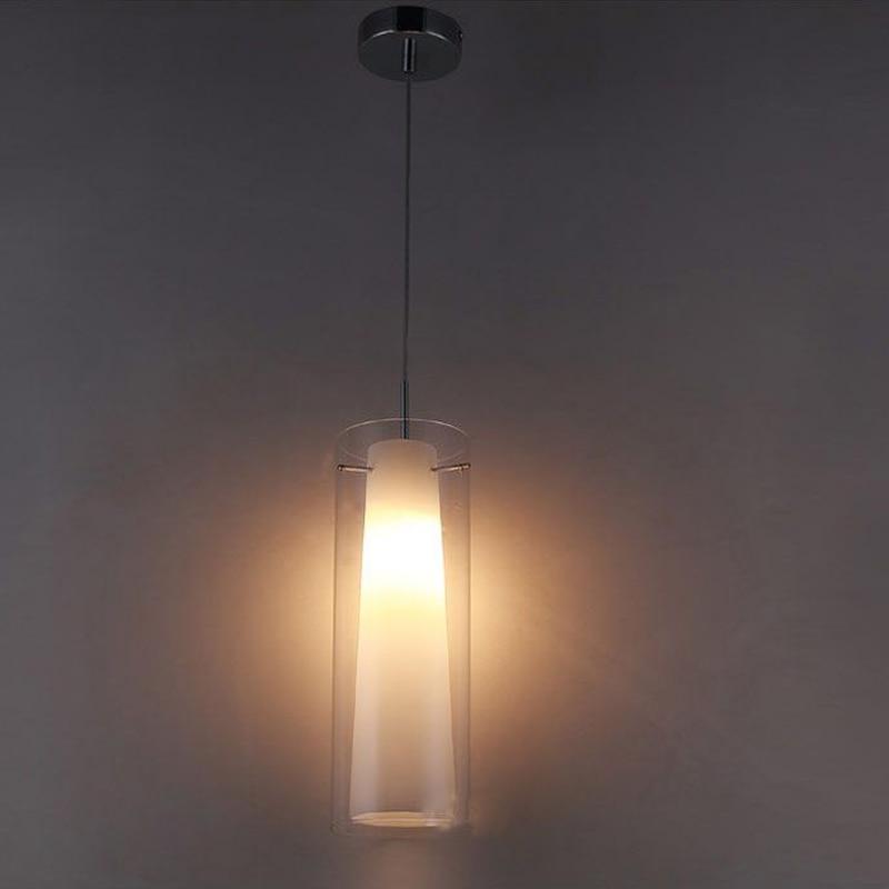 New Modern Glass Kitchen Bar Pendant Lamp 1 Light E27 Fitting Suspension Hanging Pendant Lighting PL39-1