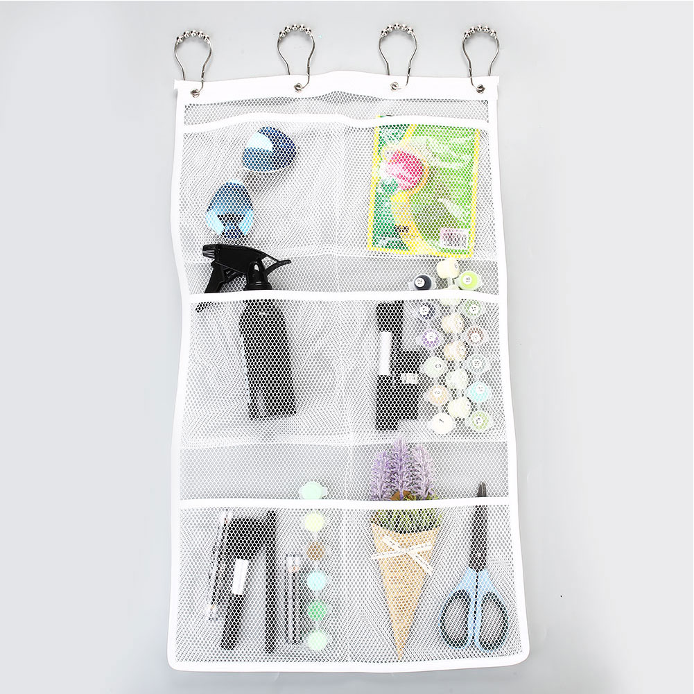Doll Baby Toy Bath Bathroom Storage Hanging Bag Net Stuff Organizer Mesh