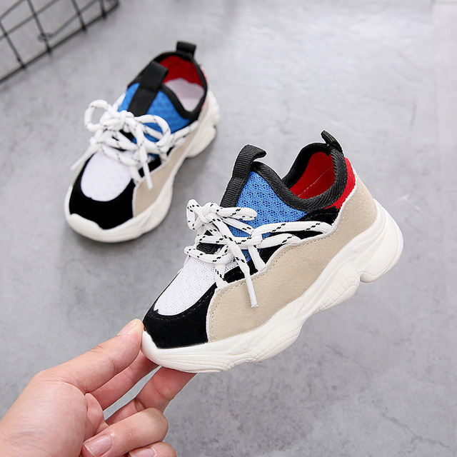 6d454e6bf Autumn New Children s Shoes Boys Girls Sports Shoes Casual Wild Style Kid  Breathable Soft Bottom Toddler Running Shoes Z07