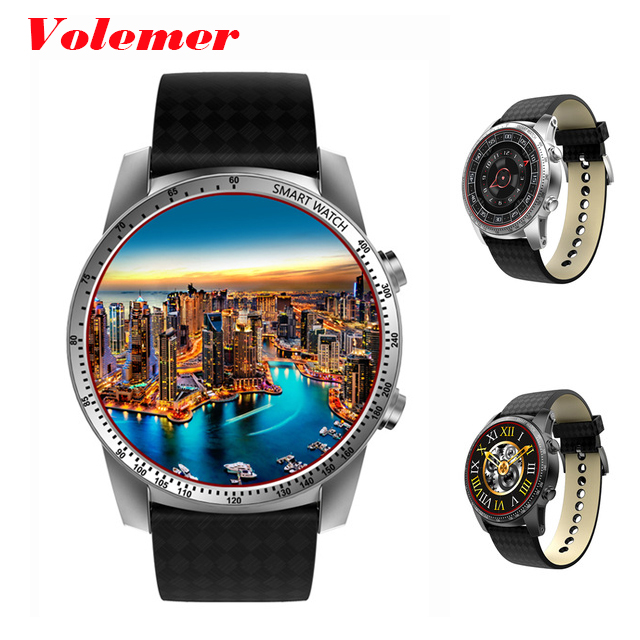 Original KW99 Android 5.1 Smart Watch 3G MTK6580 8GB Bluetooth SIM WIFI Phone GPS Heart Rate Monitor Wearable Devices PK KW88