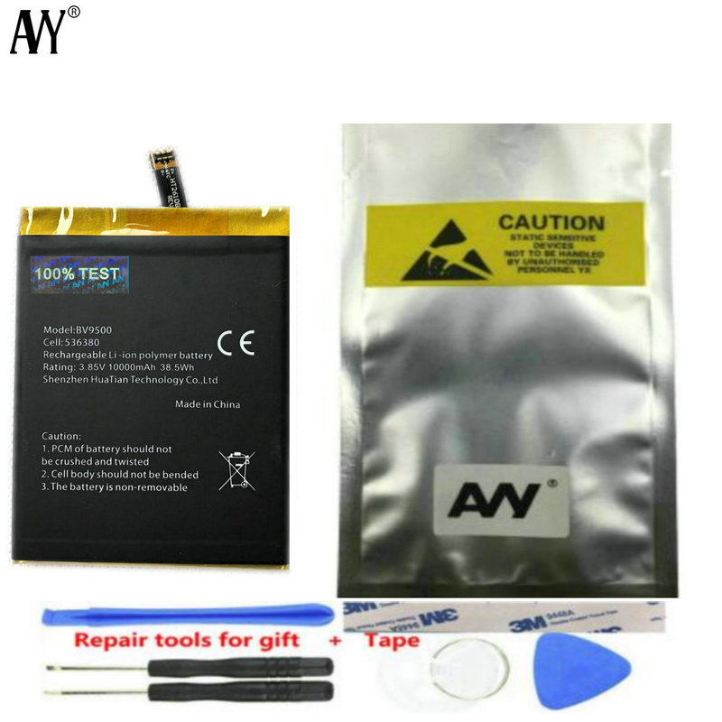 AVY Battery For <font><b>Blackview</b></font> BV9500 & BV9500 Pro <font><b>10000mAh</b></font> Original Batteries 100% Tested With Tracking Number image