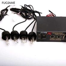 FUGSAME 704-4u пробки стробоскопа не это четыре u флэш-лампы чистые огни противотуманная фара белый