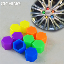 Car Styling 20pcs Silica Caps Hub Screw Protector for Mitsub