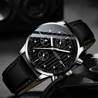Mens Watches Top Luxury Brand Mens Wristwatch Clock Fashion Quartz Watch Men Sports Waterproof Watches Male Chronograph Clock