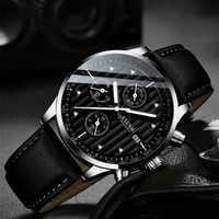 Relojes para hombre, marca de lujo superior, reloj de pulsera para hombre, reloj de cuarzo de moda, relojes deportivos a prueba de agua, reloj cronógrafo para hombre