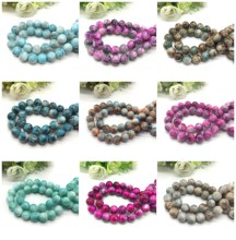 4 6 8 10mm pattern  glass bead spacer jewelry Bulk  Beads For DIY Making Bracelet Necklace Jewelry