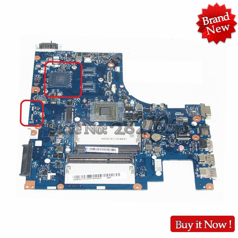 New ACLU5/ACLU6 NM-A281 REV:1.0 Motherboard For Lenovo G50-45 mainboard with E1 on Board CPU DDR3 100% tested working perfectly for lenovo g50 45 nm a281 laptop motherboard with amd a6 6310