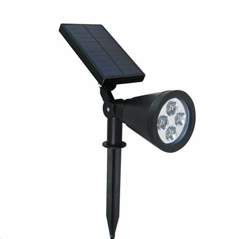 4 LED домашнее Наружное освещение Индукционная лампа Солнечный газон свет