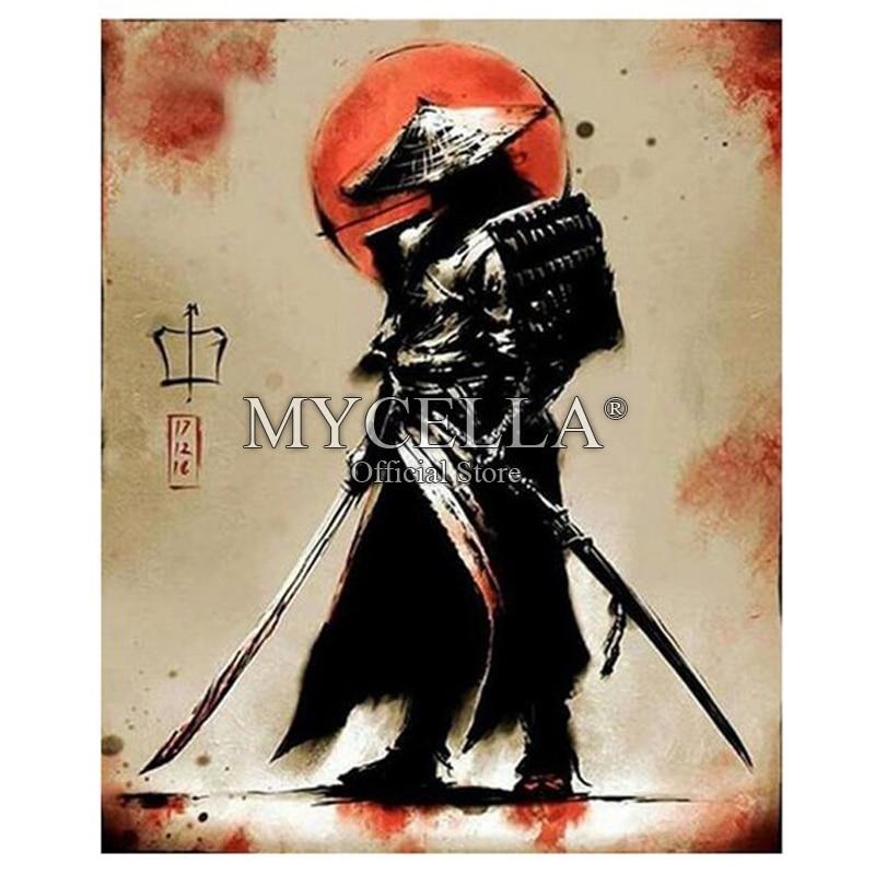 Diamond Embroidery Samurai,5d Diamond Painting vagabond