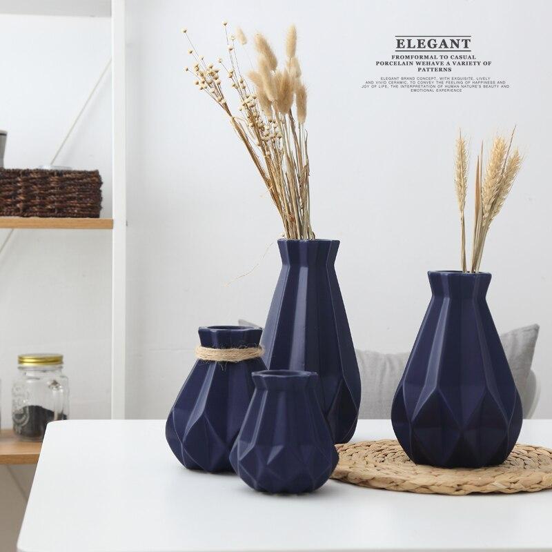 Diamond Porcelain Vases 3