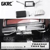 New oil tank & Exhaust tail For 1/10 RC Crawler Car Ford Bronco Ranger Traxxas TRX4