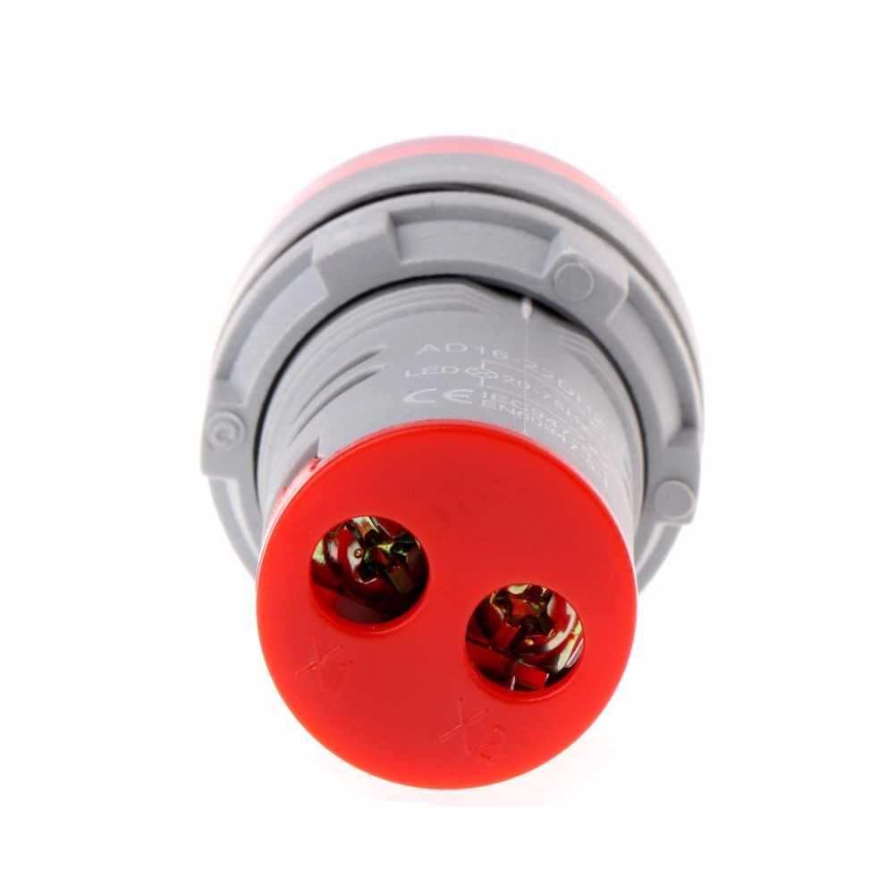 22 مللي متر هرتز التيار المتناوب تردد متر LED شاشة ديجيتال مؤشر مصباح إشارة أضواء