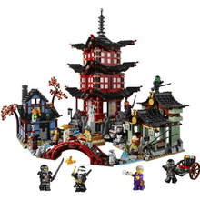2150pcs Compatible Legoed Ninjagoes Minifigures Temple of Airjitzu  Building Bricks Ninja Figure Toys For Children m357