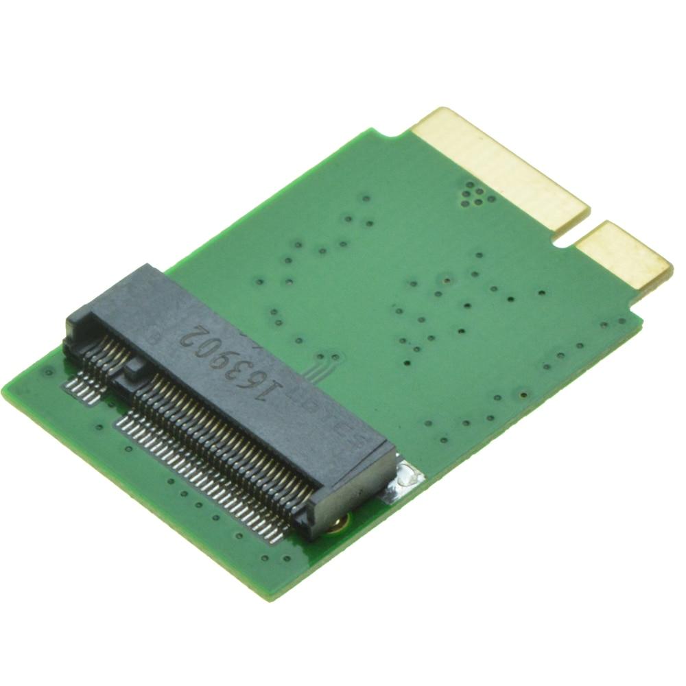 B key M.2 SATA SSD Adapter as SSD for 2012 MACBOOK Air  A1465 A1466 B+M Key NGFF for Samsung 850 EVO PM871 2