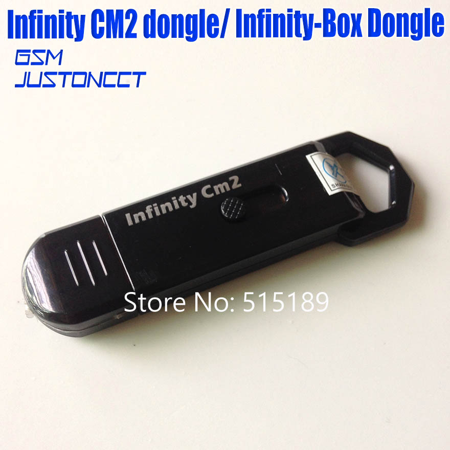 gsmjustoncct original new Infinity Box Dongle Infinity CM2 dongle for GSM CDMA phones