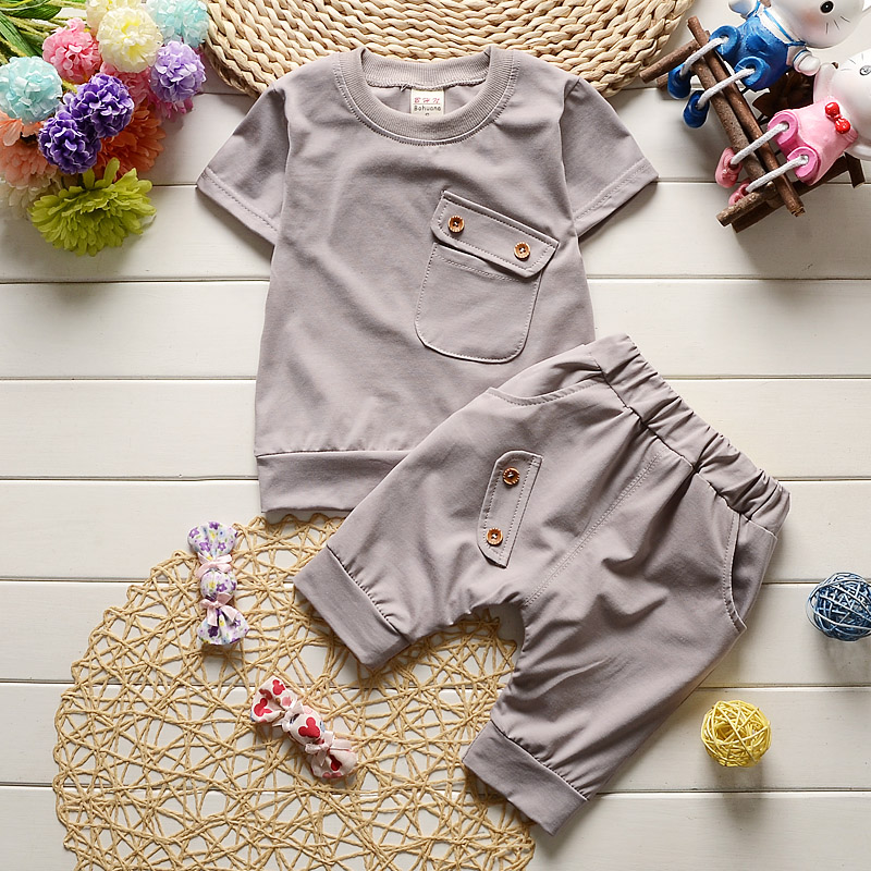 New-2017-Summer-Baby-Boys-Girls-Clothes-Sets-Casual-Style-Infant-Cotton-Suits-Sports-T-ShirtPants-2-Piece-Kids-Children-Suits-2