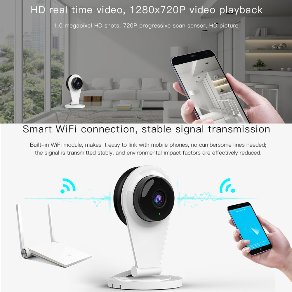 CDYCAM Baby Monitor wifi 2 way audio smart camera with motion ...
