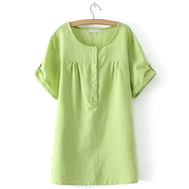 Women Tops Sale 2017 Cotton Linen Korean Fashion Women T-shirt Woman Clothes Tshirt Summer Tops Xxxxl Tee Shirts