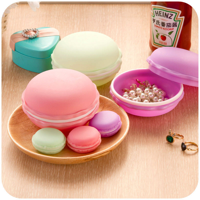 Macaron color portable sundry accessories storage box for Accessoires jardin