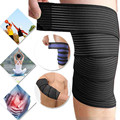 Adjust Bandage Knee Elbow Wrist Shin Support Wrap Strap Patella Tendon Brace Support Compression Legguard Sprain Strain Kneecap