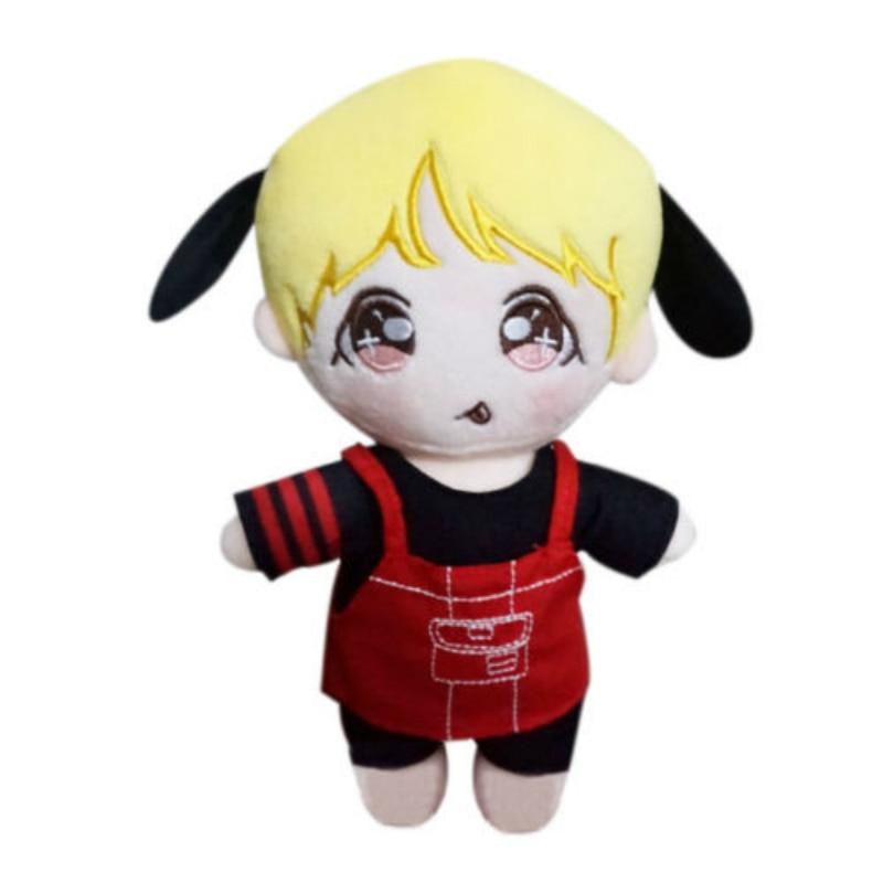 SGDOLL KPOP BTS Jimin Plush Bangtan Boys Anpanman Park Ji Min Cut Handmade Stuffed Doll In Plush Cartoon Toy New Fashion термос biostal nb 1000 c b