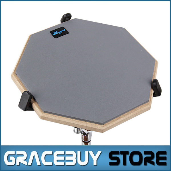 12'' Silent Drum Practice Pads For Beginner Rubber And Wooden Drumming Practise Dumpad For Drummers 10 1 inch for samsung galaxy tab 2 ii gt p5100 p5110 n8000 n8010 n8013 tablet touch screen digitizer glass panel