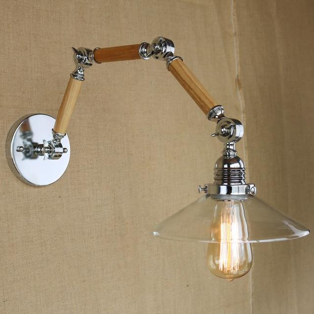 LOFT E27 Rétro Industrielle Vintage Mur Lampe Réglable 3 Bras En ...