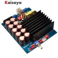 new upgrade TDA8954 HIFi D class dual channel 210w + 210W BTL OMRON relay finished power amplifier board F3 001
