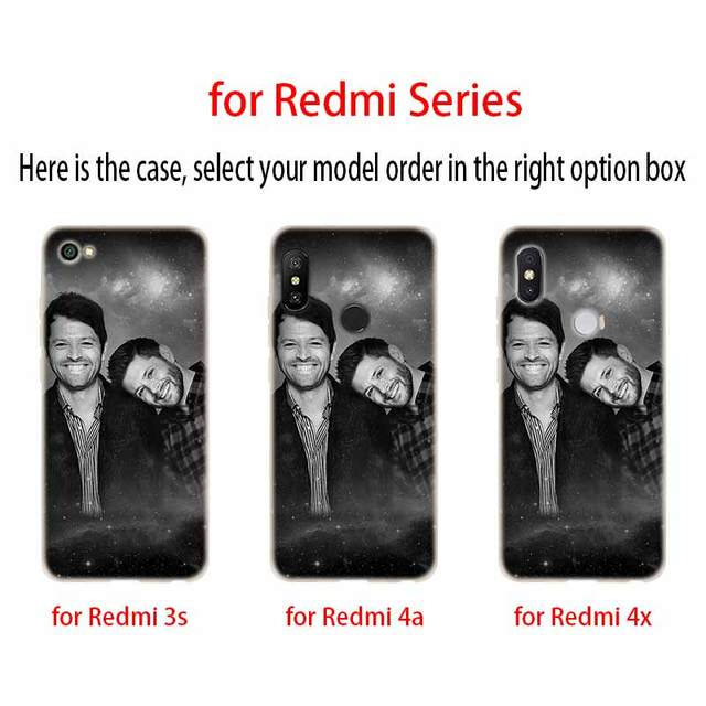 Supernatural Silicone TPU Case For Xiaomi Phones