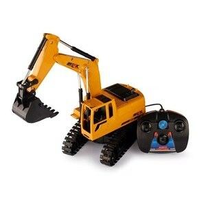 Image 1 - Rc טרקטור טרקטור צעצוע Rc משאיות למכירה עם צעצוע טרקטורי שלט רחוק Rc Dump Truckfarm טרקטורי צעצועים
