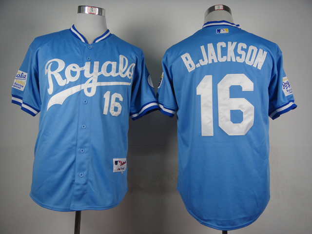online store 29da8 e13f8 bo jackson royals throwback jersey