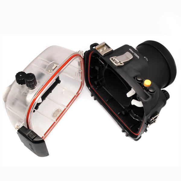 цена на Waterproof Underwater Housing Camera Housing Case for canon 600D 18-55mm Lens Meikon