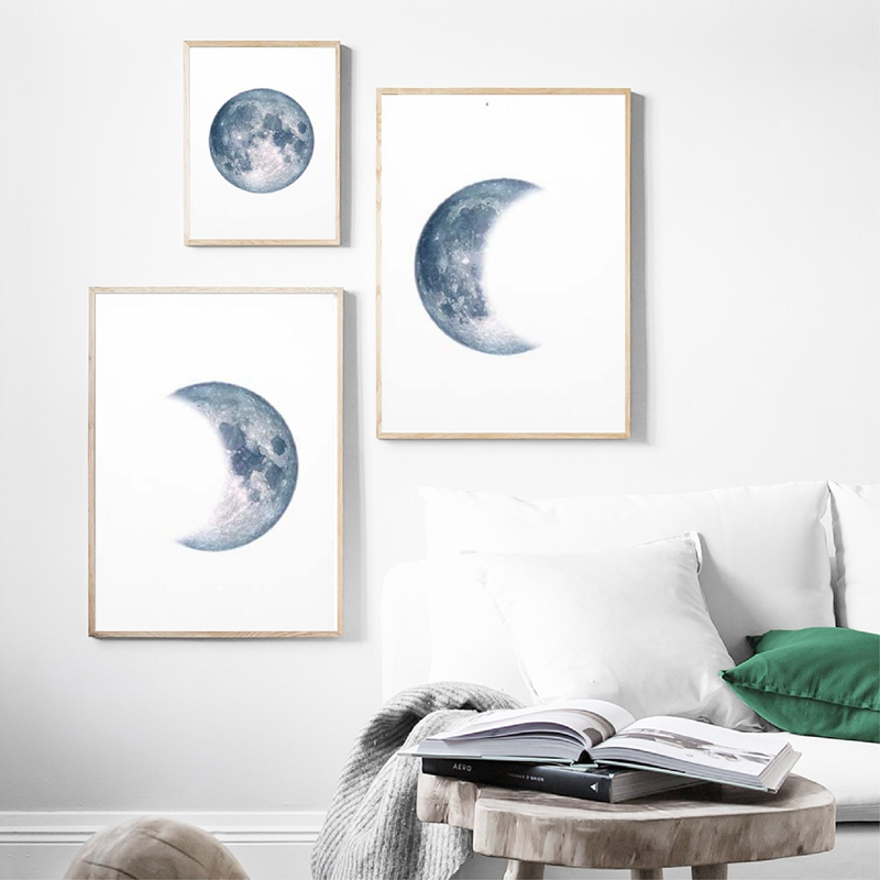 Moon-Phases-Poster-Print-Full-Moon-Half-Moon-Wall-Art-Canvas-Painting-Night-Sky-Space-Galaxy (4)