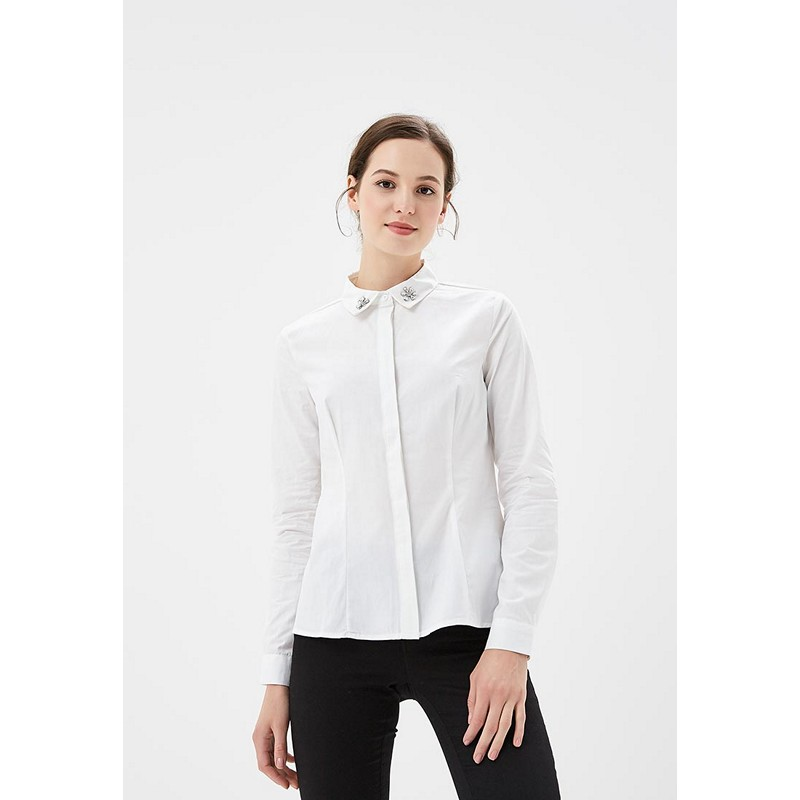 Blouses & Shirts MODIS M182W00184 blouse shirt clothes apparel for female for woman TmallFS dresses befree 1731075511 woman dress cotton long sleeve women clothes apparel casual spring for female tmallfs